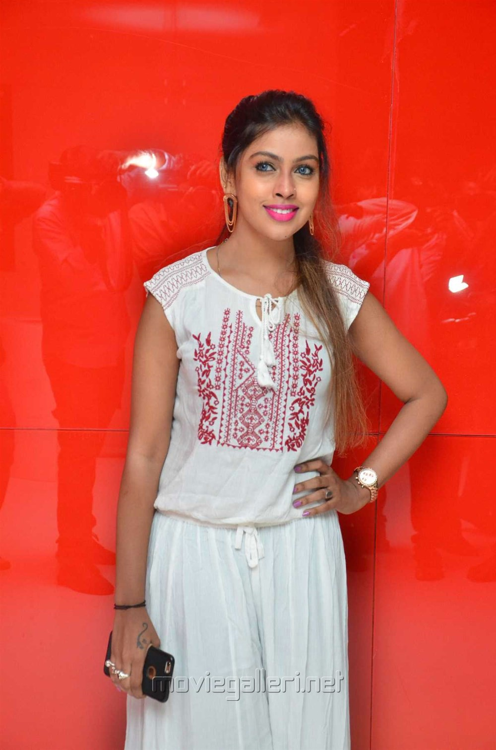 Actress @ Nenjil Thunivirunthal Audio Launch Stills