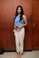 Actress Mehreen Pirzada @ Nenjil Thunivirunthal Movie Team Press Meet Stills