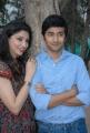 Tanvi Vyas, Rahul Ravindran at Nenu Chinna Pillana Logo Launch Stills