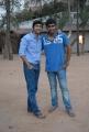 Rahul Ravindran, Abhiram at Nenu Chinna Pillana Movie Logo Launch Stills