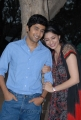 Rahul Ravindran, Tanvi Vyas at Nenu Chinna Pillana Movie Logo Launch Stills