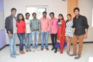Nenu Naa Friends Movie Team Meet @ Prasad Labs Stills