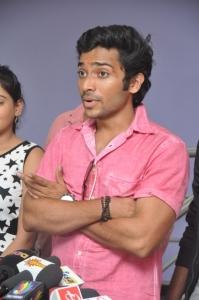 Nenu Naa Friends Movie Team @ Prasad Labs Stills