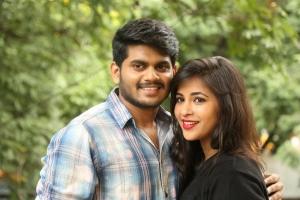 Sandeep, Komali @ Nenu Seethadevi Movie Press Meet Stills