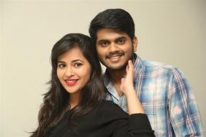 Komali, Sandeep @ Nenu Seethadevi Movie Press Meet Stills