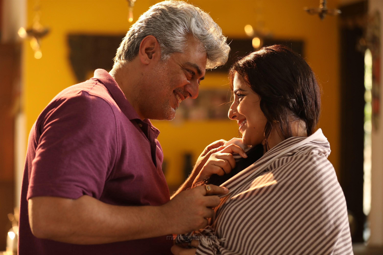 Ajith, Vidya Balan in Nerkonda Paarvai Movie HD Images