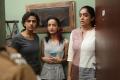 Shraddha Srinath, Andrea Tariang, Abhirami Venkatachalam in Nerkonda Paarvai Movie Stills HD
