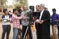 Nirav Shah, Ajith @ Nerkonda Paarvai Shooting Spot Photos HD