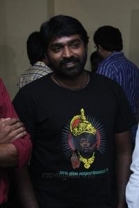 Vijay Sethupathi @ Nerungi Vaa Muthamidathe Movie Premiere Show Stills