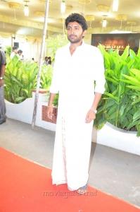 Actor Vikram Prabhu @ Neruppu Da Movie Audio Launch Stills