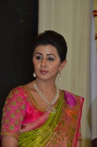 Actress Nikki Galrani @ Neruppu Da Movie Audio Launch Stills