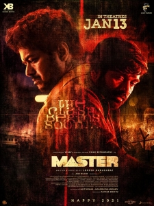 Master Movie New Year 2021 Wishes Posters