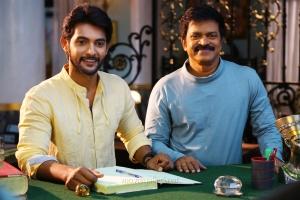 Aadi,  Brahmaji in Next Nuvve Movie Stills HD