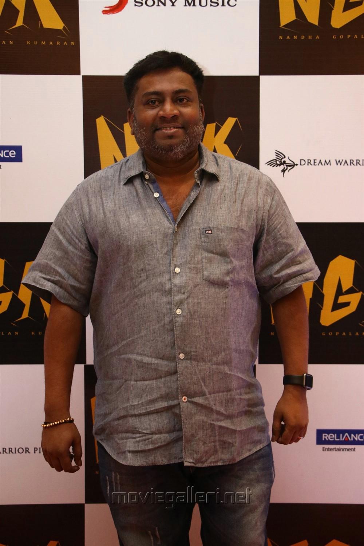 Editor Praveen KL @ NGK Movie Audio Launch Stills