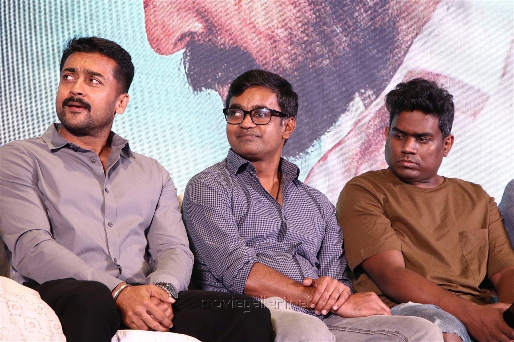 Suriya, Selvaraghavan, Yuvan Shankar Raja @ NGK Movie Audio Launch Stills