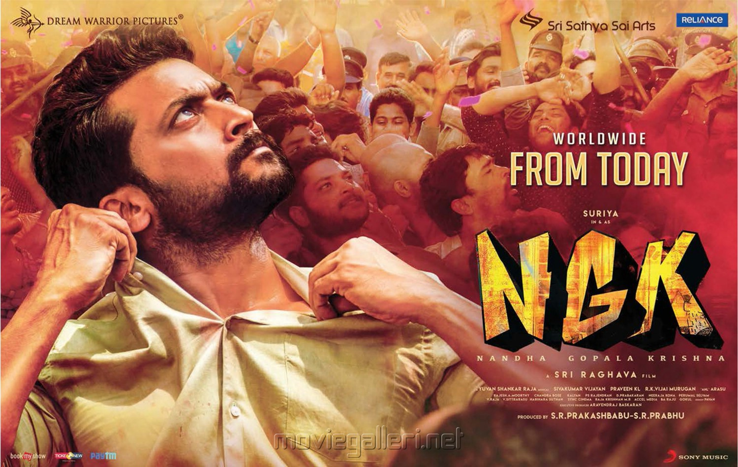 Suriya NGK Movie Release Today Posters