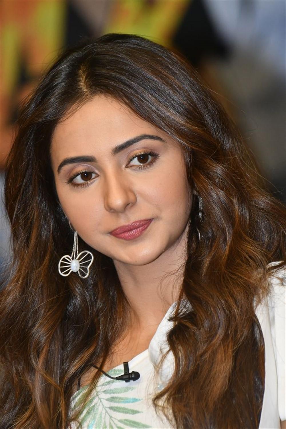 NGK Movie Actress Rakul Preet Singh Interview Stills