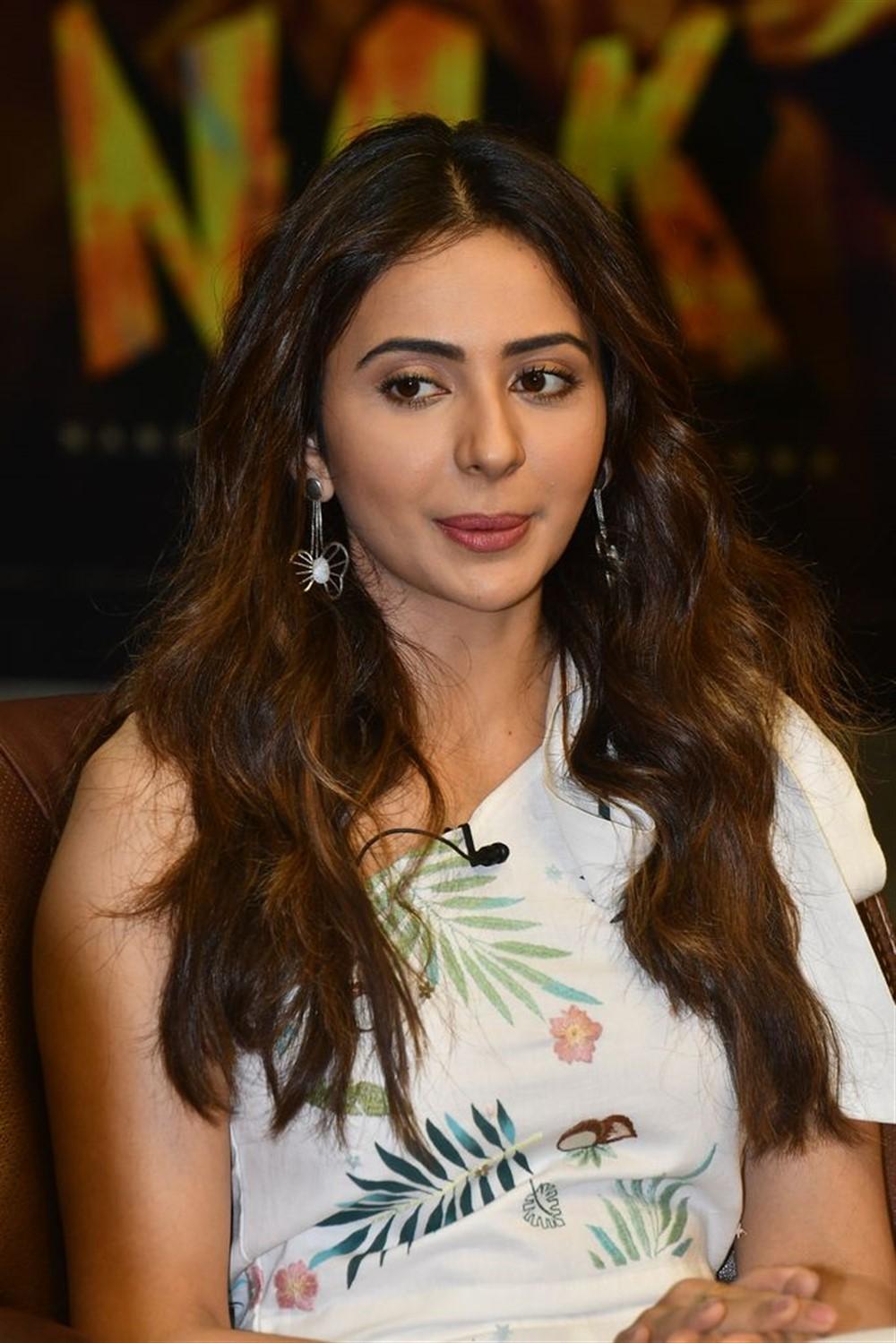 NGK Movie Heroine Rakul Preet Interview Stills
