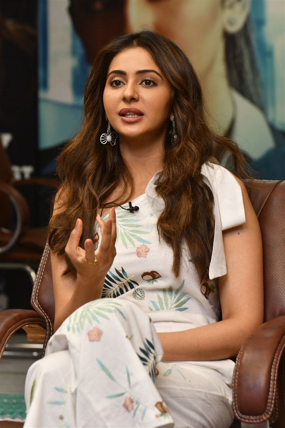 NGK Movie Actress Rakul Preet Singh Interview Stills