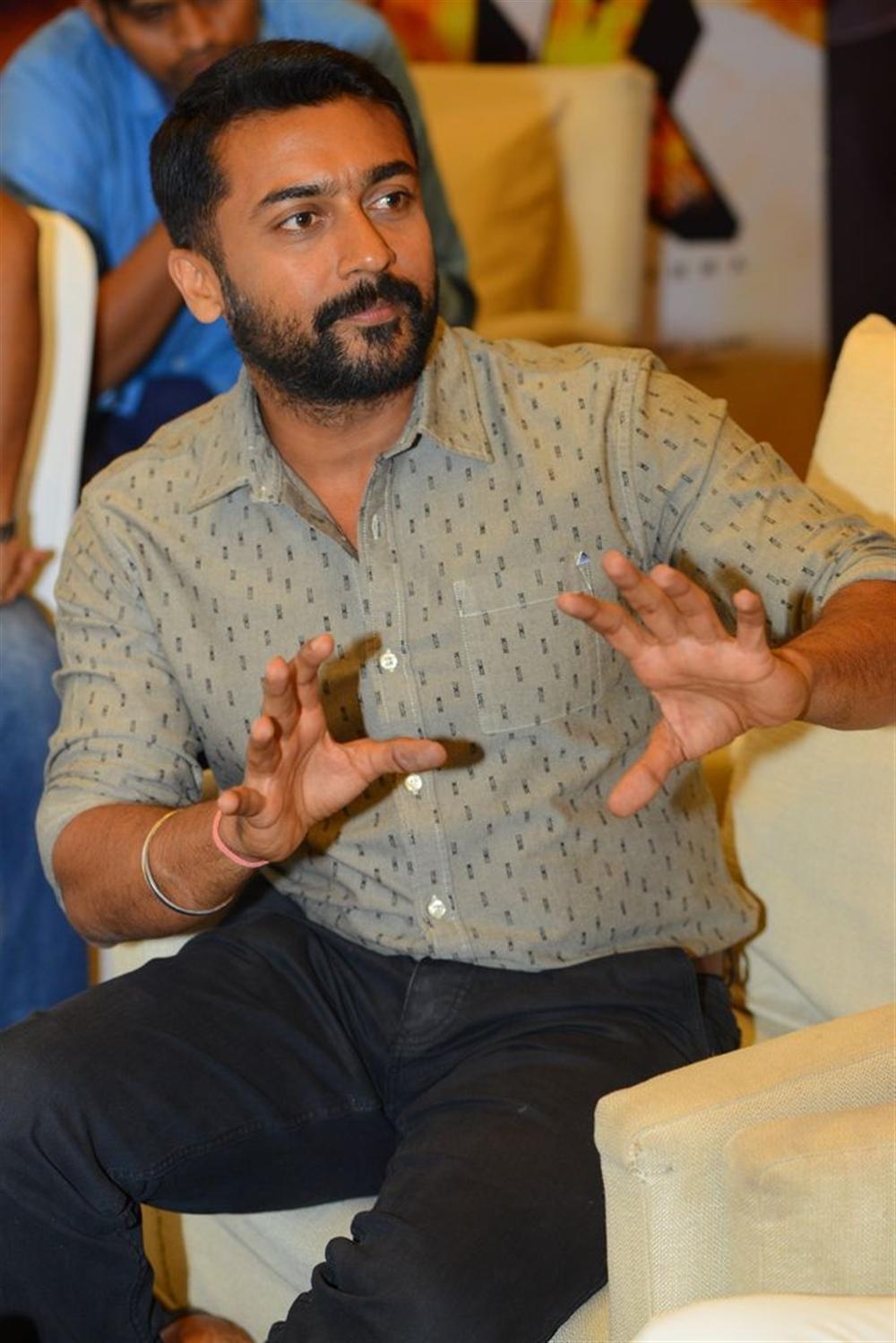 Actor Suriya @ NGK Movie Interview Stills