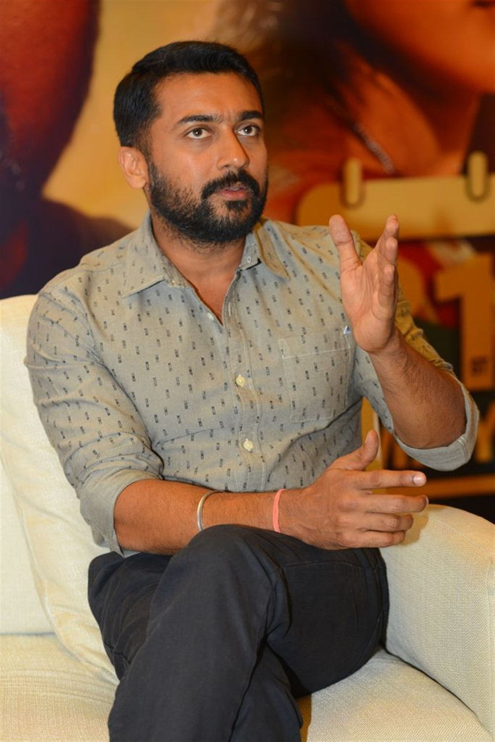 NGK Movie Hero Suriya Interview Stills