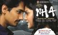 Siddharth, Ashritha Shetty in NH4 Movie Wallpapers