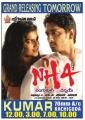 Siddharth, Ashritha Shetty in NH4 Telugu Movie Release Posters