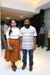 Meenakshi Iyer, Santhosh Narayanan @ Nibunan Movie Premiere Show Photos