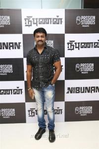 Gaurav @ Nibunan Movie Premiere Show Photos