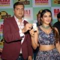 Actress Nidhhi Agerwal @ Bajaj Electronics DC Gold Hungama 2019 Winner Announcement