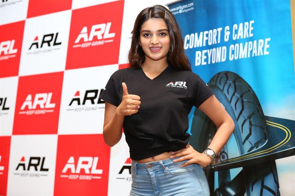 Actress Nidhhi Agerwal launches ARL Jeeto Shaan Se Hungama Contest Photos
