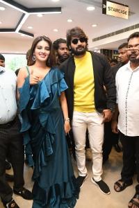 Nidhhi Agerwal & Karthikeya launches KLM Fashion Mall Secunderabad Photos