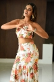 Actress Nidhhi Agerwal Photos @ iSmart Shankar Movie Promotions