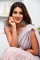 Actress Nidhi Agarwal Saree Pics @ iSmart Shankar Interview