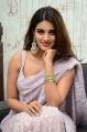 Actress Nidhhi Agerwal Saree Pics @ iSmart Shankar Interview