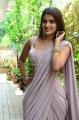 Actress Nidhi Agarwal Saree Pics @ iSmart Shankar Movie Interview