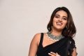 Actress Nidhi Agarwal in Black Saree Images @ iSmart Shankar Pre Release