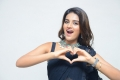 Actress Nidhi Agarwal Black Saree Images @ iSmart Shankar Pre Release