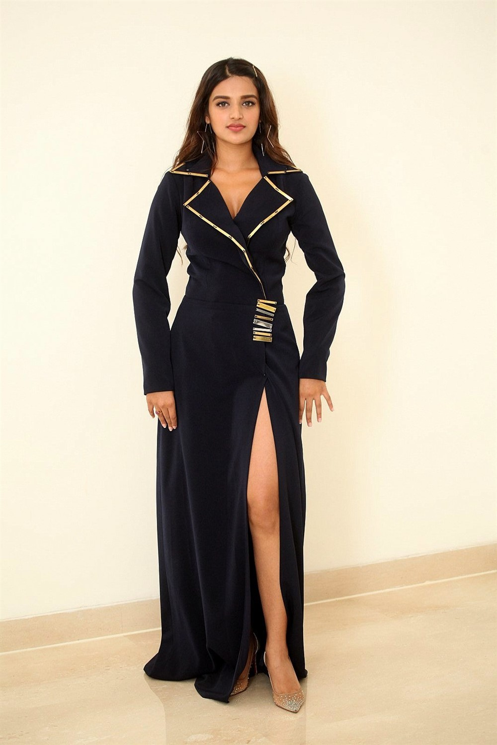 Actress Nidhi Agarwal Stills @ SIIMA Awards 2019 Press Meet