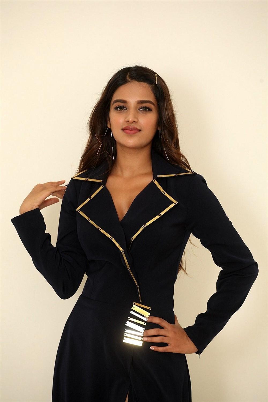 Actress Nidhi Agarwal Stills @ SIIMA Awards 2019 Curtain Raiser