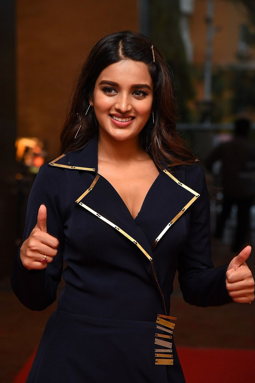 Actress Nidhhi Agerwal Stills @ SIIMA Awards 2019 Curtain Raiser
