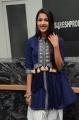 Actress Niharika Konidela in Blue Dress Images