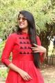 Actress Niharika Konidela Red Dress Photos