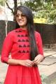Actress Niharika Konidela Latest Photos in Red Dress
