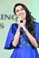 Actress Niharika Latest Pics in Blue Dress @ Naa Peru Surya Pre Release