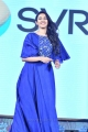 Actress Niharika Konidela Pics in Blue Dress @ Naa Peru Surya Pre Release