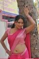 Actress Hot in Saree at Nijam Nizhalagirathu Shooting Spot Stills