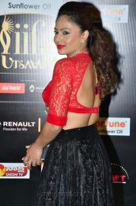 Actress Nikesha Patel Hot at IIFA Utsavam 2016 Green Carpet