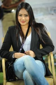 Nikesha Patel in CCL match