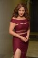 Actress Nikeesha Patel Latest Images in Dark Pink Dress